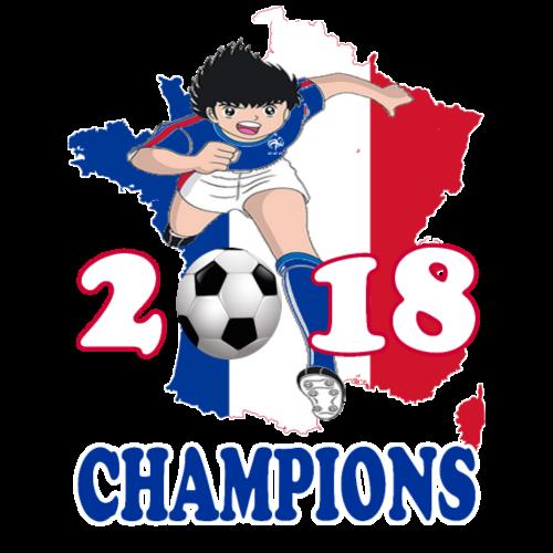 France World Cup Champions 2018 - Men's Premium T-Shirt