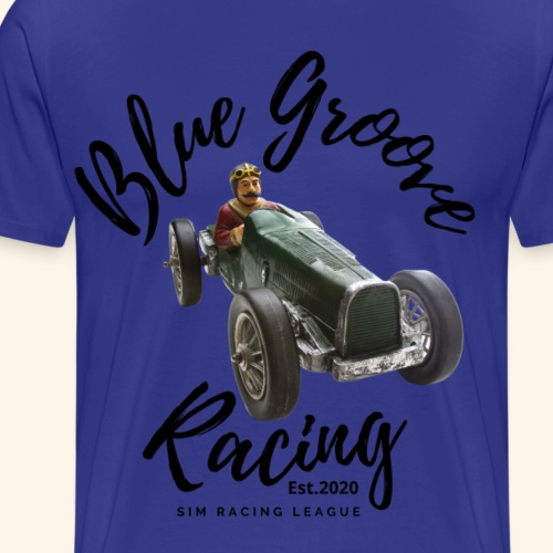 Blue Groove Racing Est 2020 - Men's Premium T-Shirt