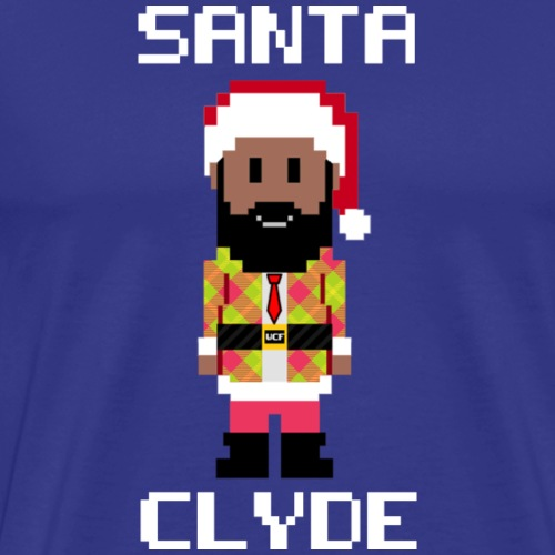 Santa Clyde So Fly (8-Bit) - Men's Premium T-Shirt