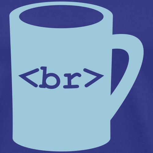 Coffee Break (in Code) - Men's Premium T-Shirt
