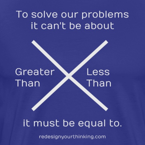 Equality is the Answer - Men's Premium T-Shirt