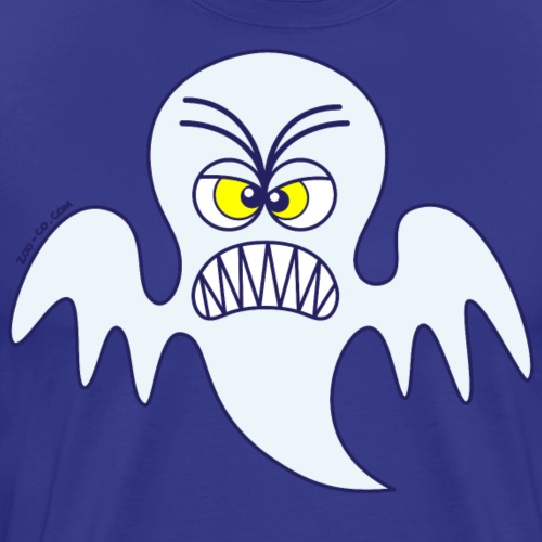 Scary Halloween Ghost - Men's Premium T-Shirt