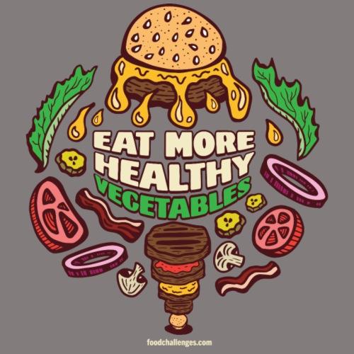 Eat More Healthy Vegetables - Men's Premium T-Shirt
