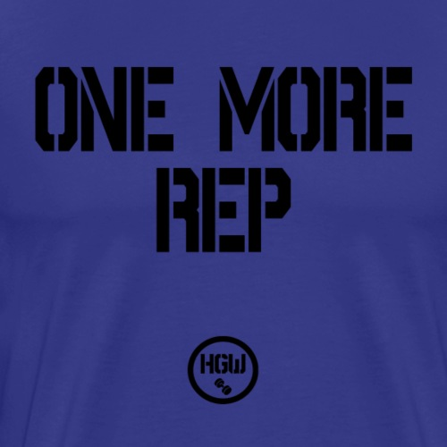 ONE MORE REP - Motivation - Men's Premium T-Shirt