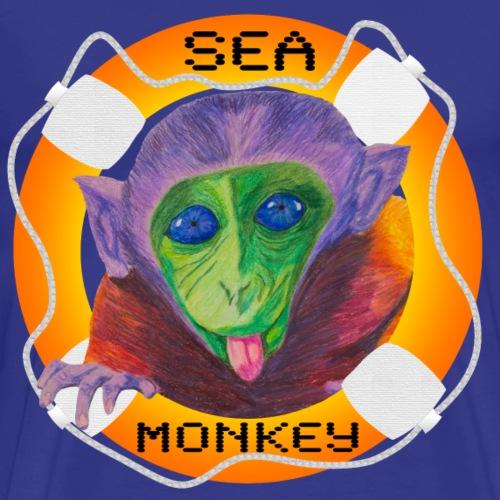 Sea Monkey Madness - Men's Premium T-Shirt