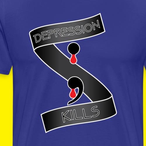 Depression Kills - Men's Premium T-Shirt