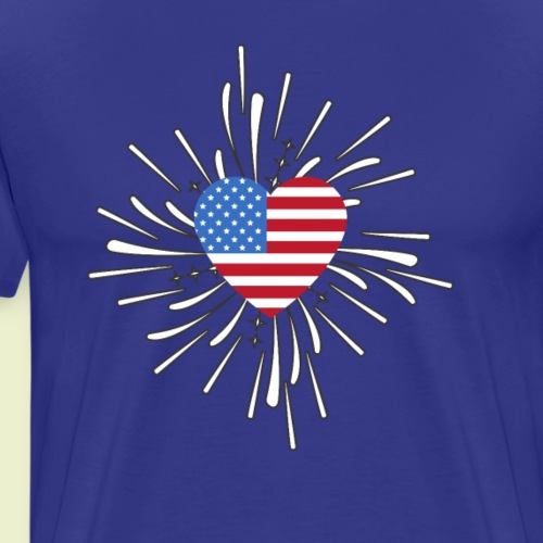 America Pride! - Men's Premium T-Shirt