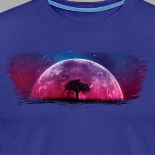 Moonscape Artistic Swash - Men's Premium T-Shirt