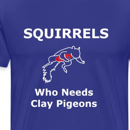 Squirrel Pigeon - Men's Premium T-Shirt