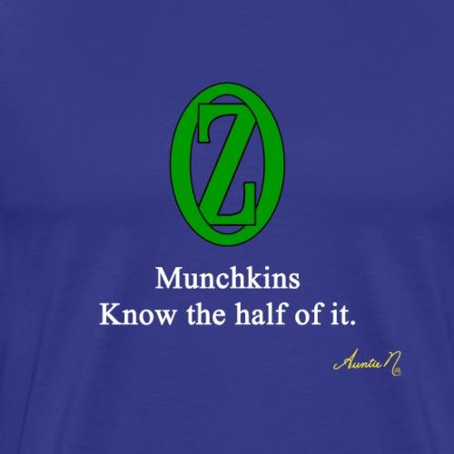 0135w Munchkins - Men's Premium T-Shirt