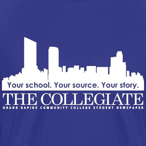 GRCC Collegiate logo - Men's Premium T-Shirt