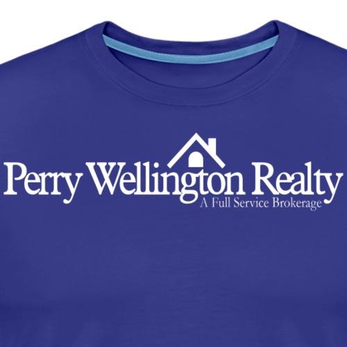logo white 1 - Men's Premium T-Shirt