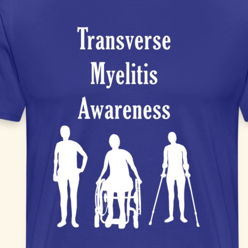 Transverse Myelitis Awareness - Men's Premium T-Shirt