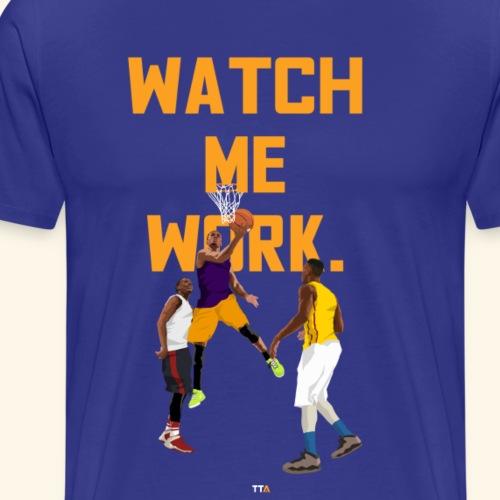 watch me - Men's Premium T-Shirt