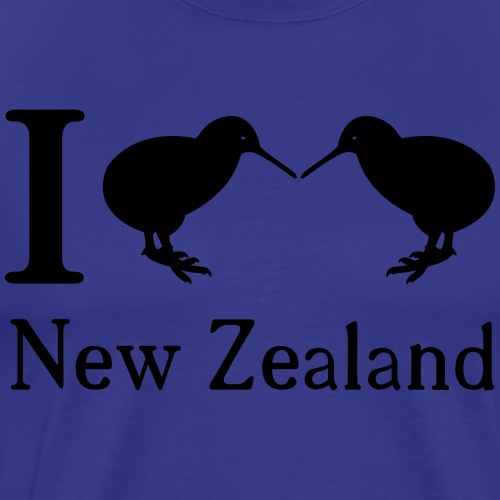 I love New Zealand - Men's Premium T-Shirt