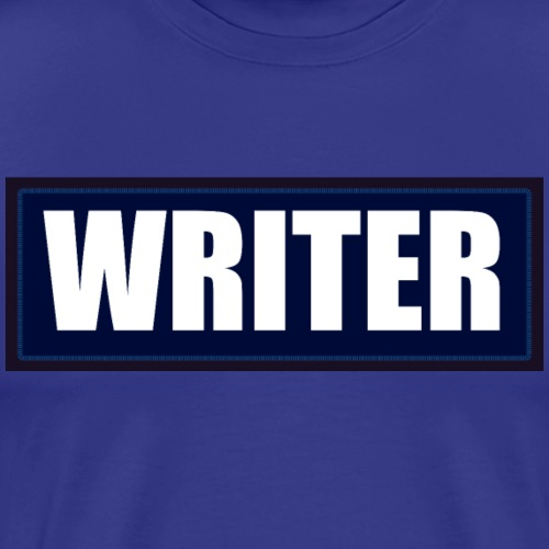 Writer Velcro Patch - Men's Premium T-Shirt