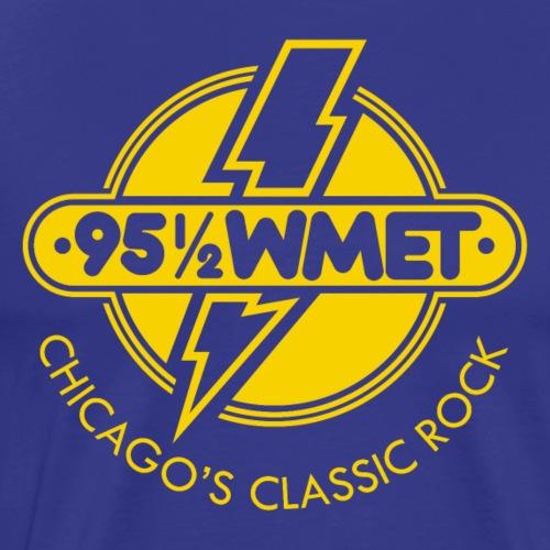 WMET yellow. - Men's Premium T-Shirt
