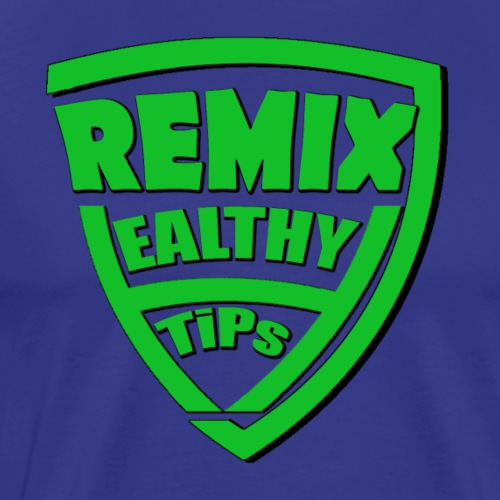 7Remix Healthy Tips T-shirt - Men's Premium T-Shirt