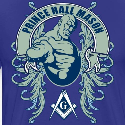 Prince Hall Mason Design - Men's Premium T-Shirt