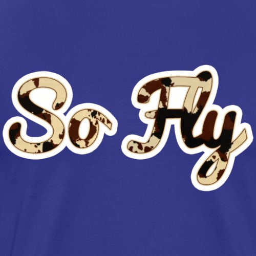 So Fly Classic Cow - Men's Premium T-Shirt