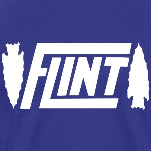 Flint Arrowhead - Men's Premium T-Shirt