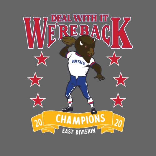 We're Back - Deal With It - Men's Premium T-Shirt