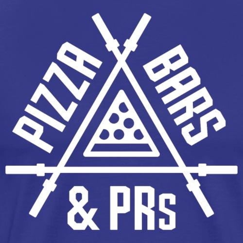 Pizza, Bars & PRs - Men's Premium T-Shirt
