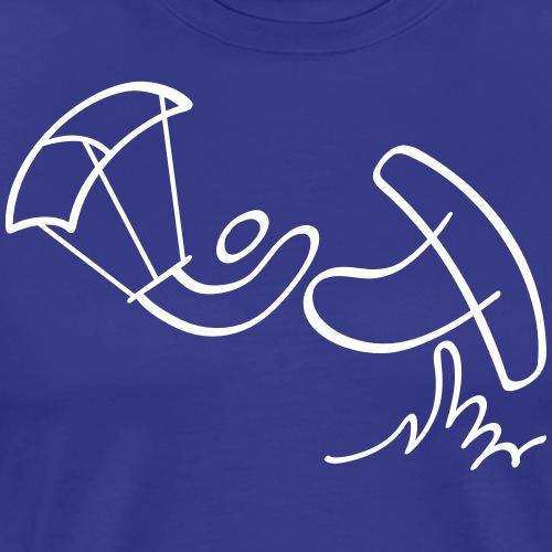 Extreme Kitesurfing - Men's Premium T-Shirt