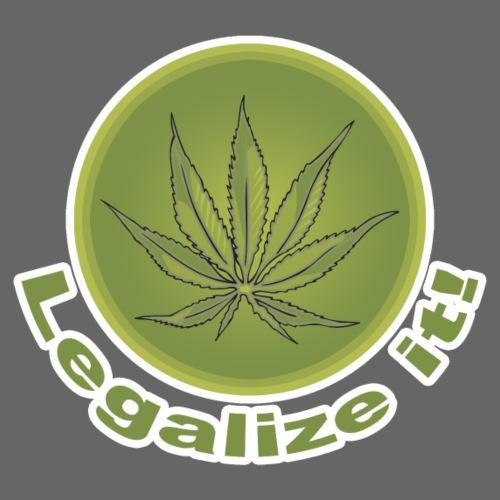 Legalize It - Design - Men's Premium T-Shirt