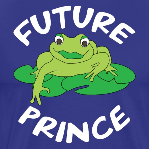 Future Prince White Text - Men's Premium T-Shirt