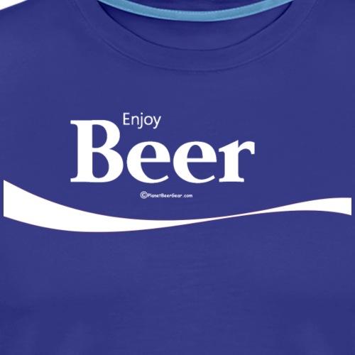 Enjoy Beer Women's Premium Long Sleeve T-Shirt - Men's Premium T-Shirt