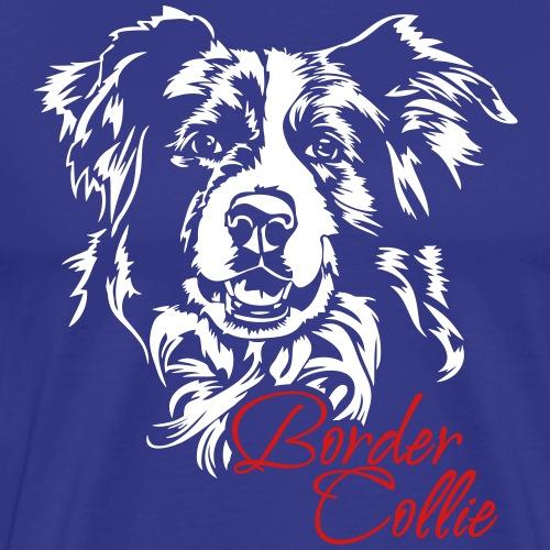 Border Collie - Men's Premium T-Shirt