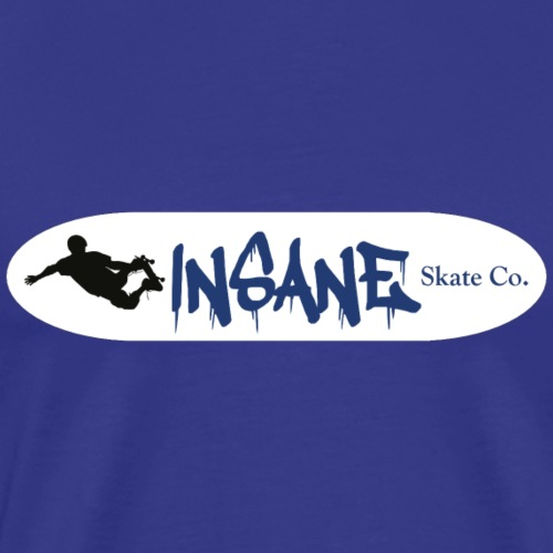 Insane Skate Deck Royal - Men's Premium T-Shirt