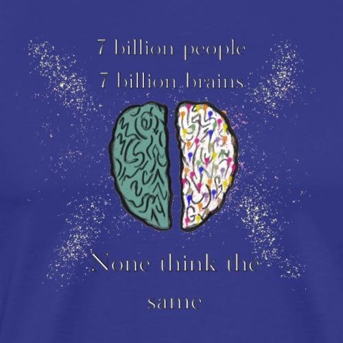 People brains - Men's Premium T-Shirt