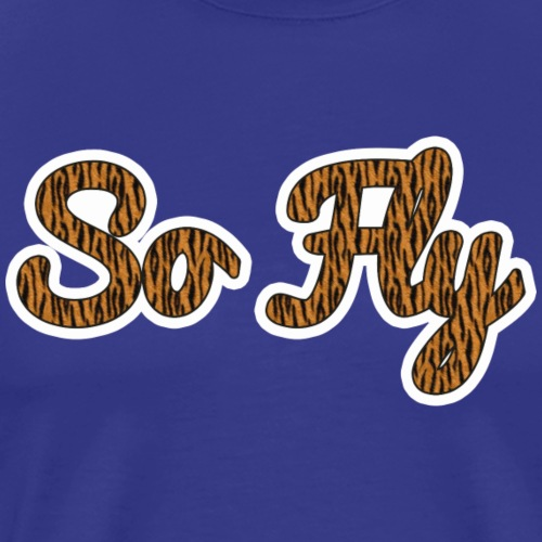 So Fly Tiger - Men's Premium T-Shirt