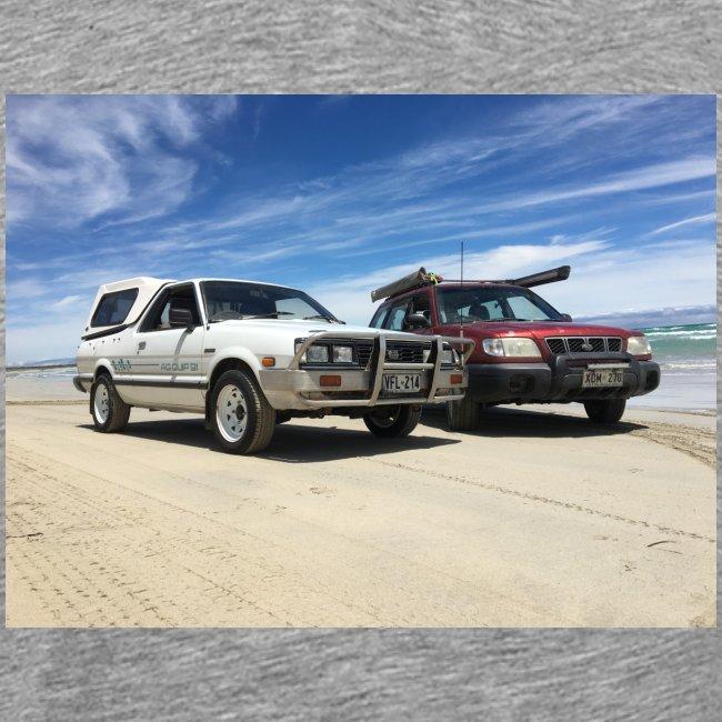 Subaru off roading