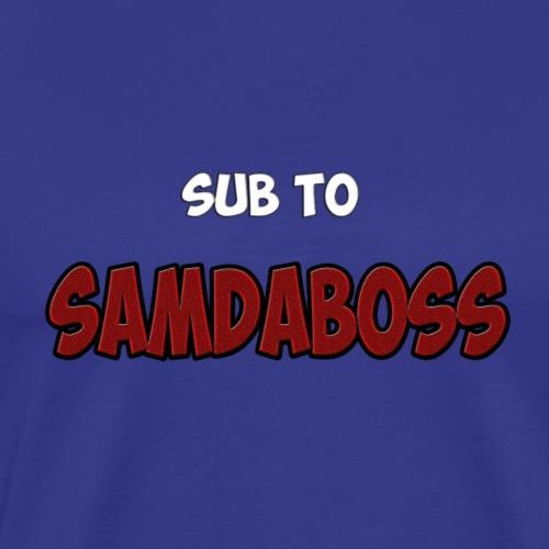 SAMDABOSS - Men's Premium T-Shirt