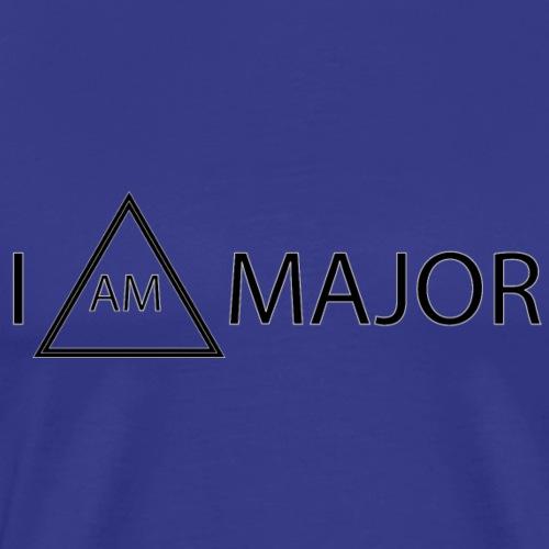 I AM MAJOR - Men's Premium T-Shirt