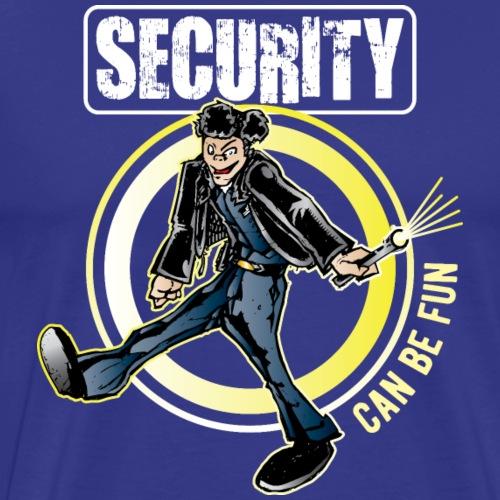 Security Guard Fun - Men's Premium T-Shirt
