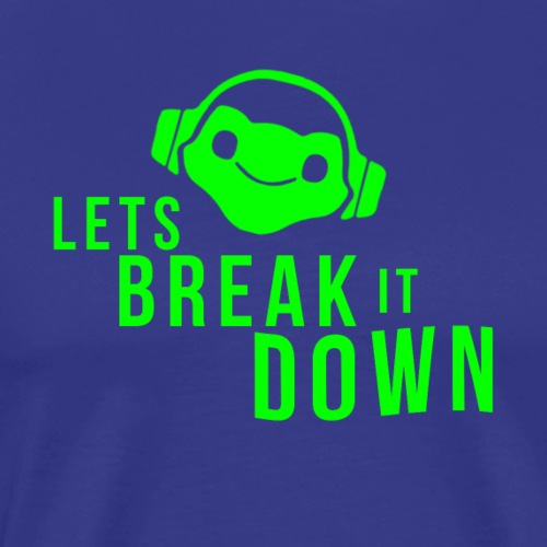 OVERWATCH LUCIO LETS BREAK IT DOWN DESIGN - Men's Premium T-Shirt