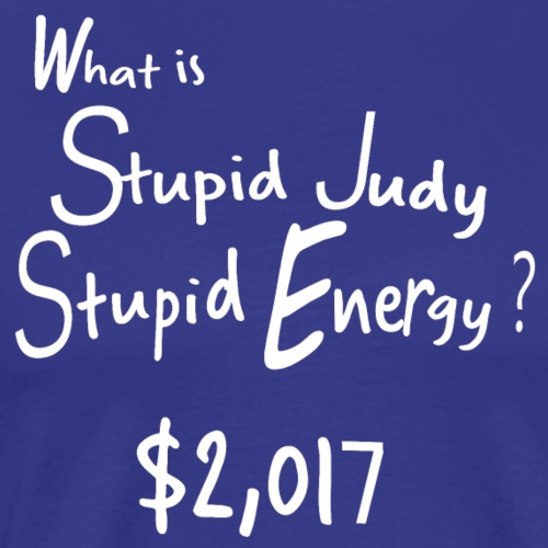 Stupid Judy Stupid Energy - Men's Premium T-Shirt