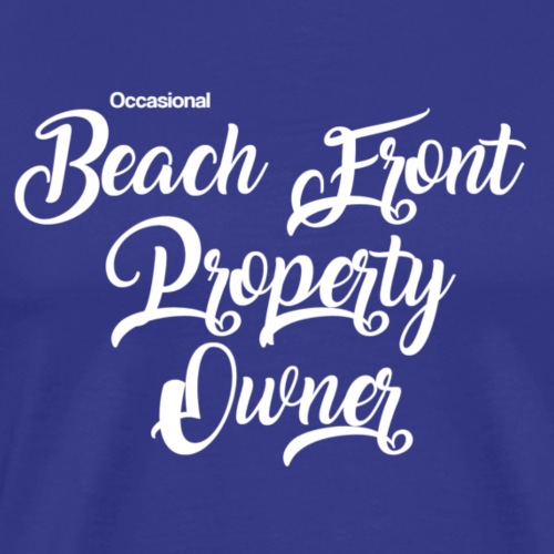 beach front - Men's Premium T-Shirt