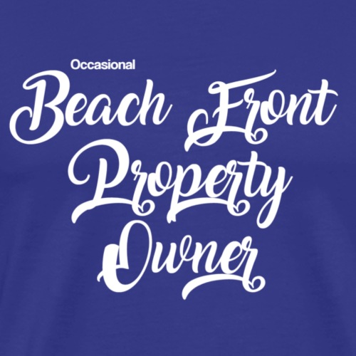 beach front - Men's Premium T-Shirt