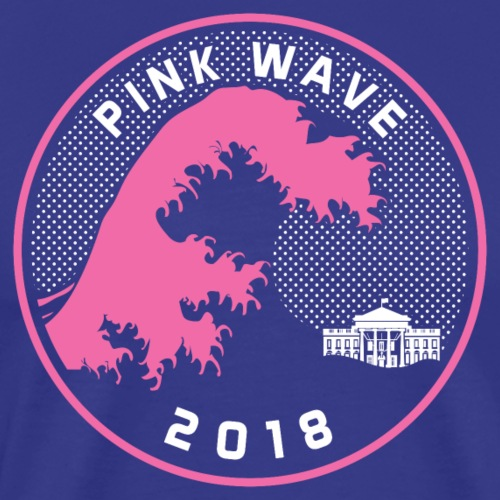 Pink Wave 2018 T-shirts - Men's Premium T-Shirt