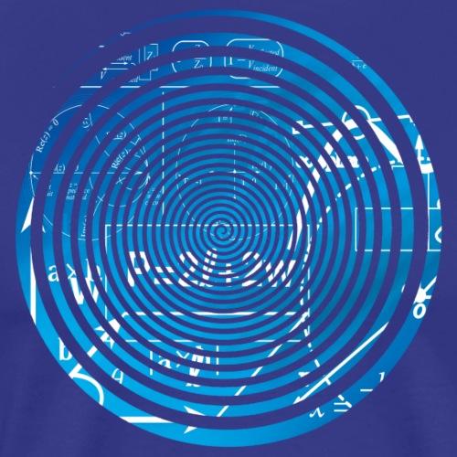 Geometry equation spiral - Men's Premium T-Shirt