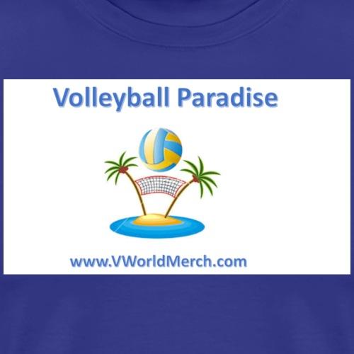 Volleyball Paradise - Men's Premium T-Shirt