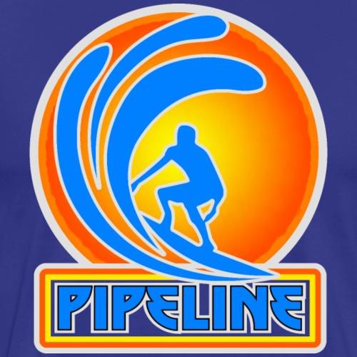 The Banzai Pipeline, North Shore, Oahu - Men's Premium T-Shirt