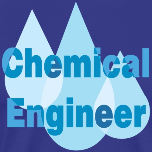 Chemical Engineer Blue Drops