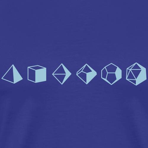 Dice Evolution d20 Dungeons & Dragons - Men's Premium T-Shirt