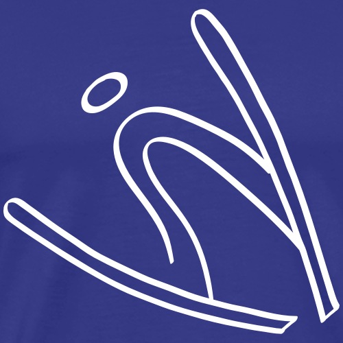Extreme Ski Jumping - Men's Premium T-Shirt
